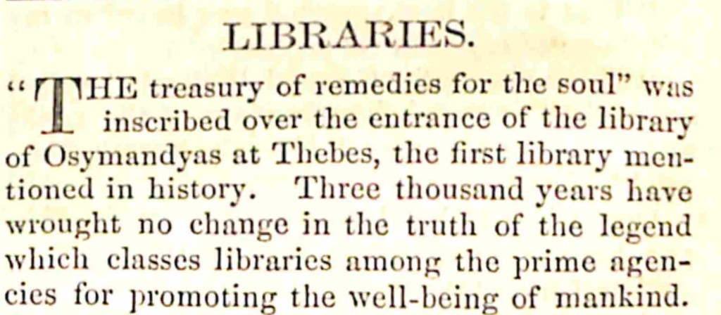 Libraries intro